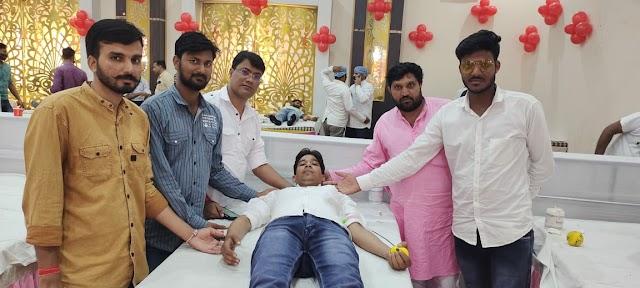 हनुमान सेवा समिति का रक्तदान शिविर संपन्न, 1008 यूनिट रक्त का हुआ संग्रहण