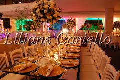 Fotos de decoração de casamento de Casamento no Jockey Club da decoradora e cerimonialista de casamento Liliane Cariello que atua no Rio de Janeiro e Niterói, RJ.