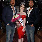 OIC - ENTSIMAGES.COM - Toni Alberti , The Winner Amelia Rushmore-Perrin and John Alberti  at the  Miss GB South East pageant at DSTRKT London 18th July 2015 Photo Mobis Photos/OIC 0203 174 1069
