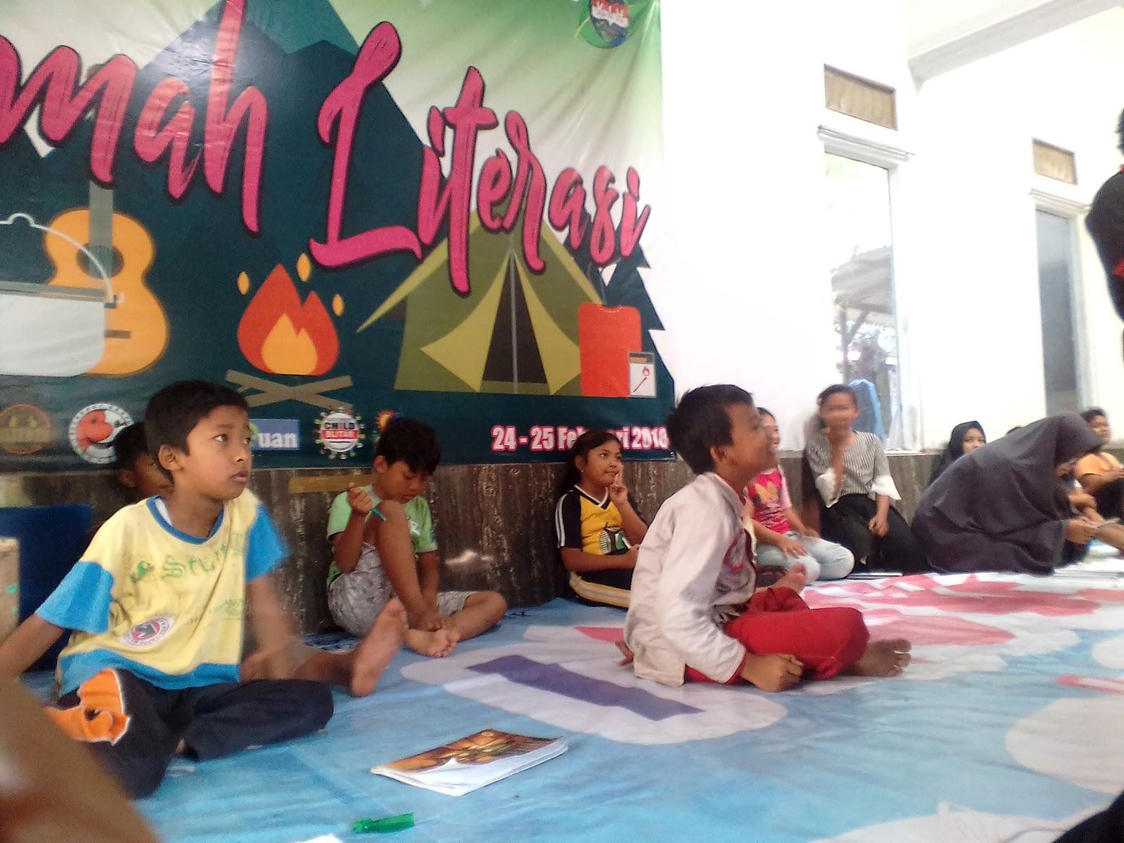 Dari Literasi, Mengajarkan Cinta Lingkungan