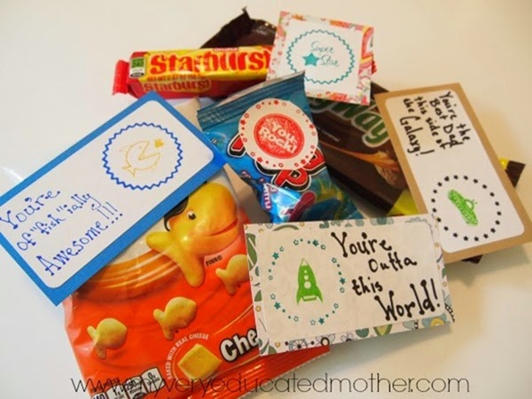 Snack Food Sayings for a Quick Gift Idea