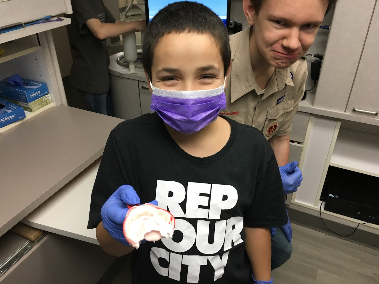 Dentistry Merit Badge - November 2016 - IMG_1207.JPG