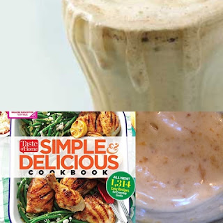Peanut Butter Shakes ~ Source: tammycookblogsbooks