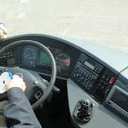 Het dashboard van de Setra van Besseling Travel bus 9