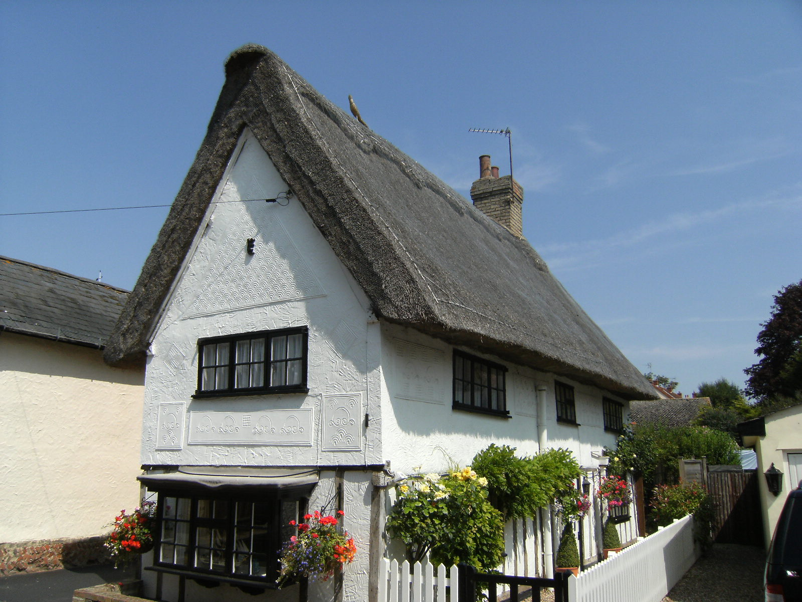 DSCF8964 Thatched cottage, Great Chesterford