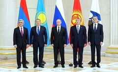 Members of the Supreme Eurasian Economic Council.