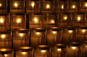 Votive candles, Notre Dame