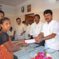 Check Distribution for Savitha Samaja Members