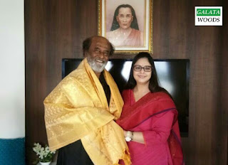 Nagma meeting with Rajinikanth triggers political speculations again