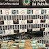 Polícia Civil apreende quase 700 mil cigarros contrabandeados em Coremas