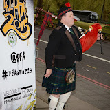 OIC - ENTSIMAGES.COM - Pipe Major Martin Hewins at the Professional Footballers' Association (PFA) Awards in London 26th April 2015  Photo Mobis Photos/OIC 0203 174 1069