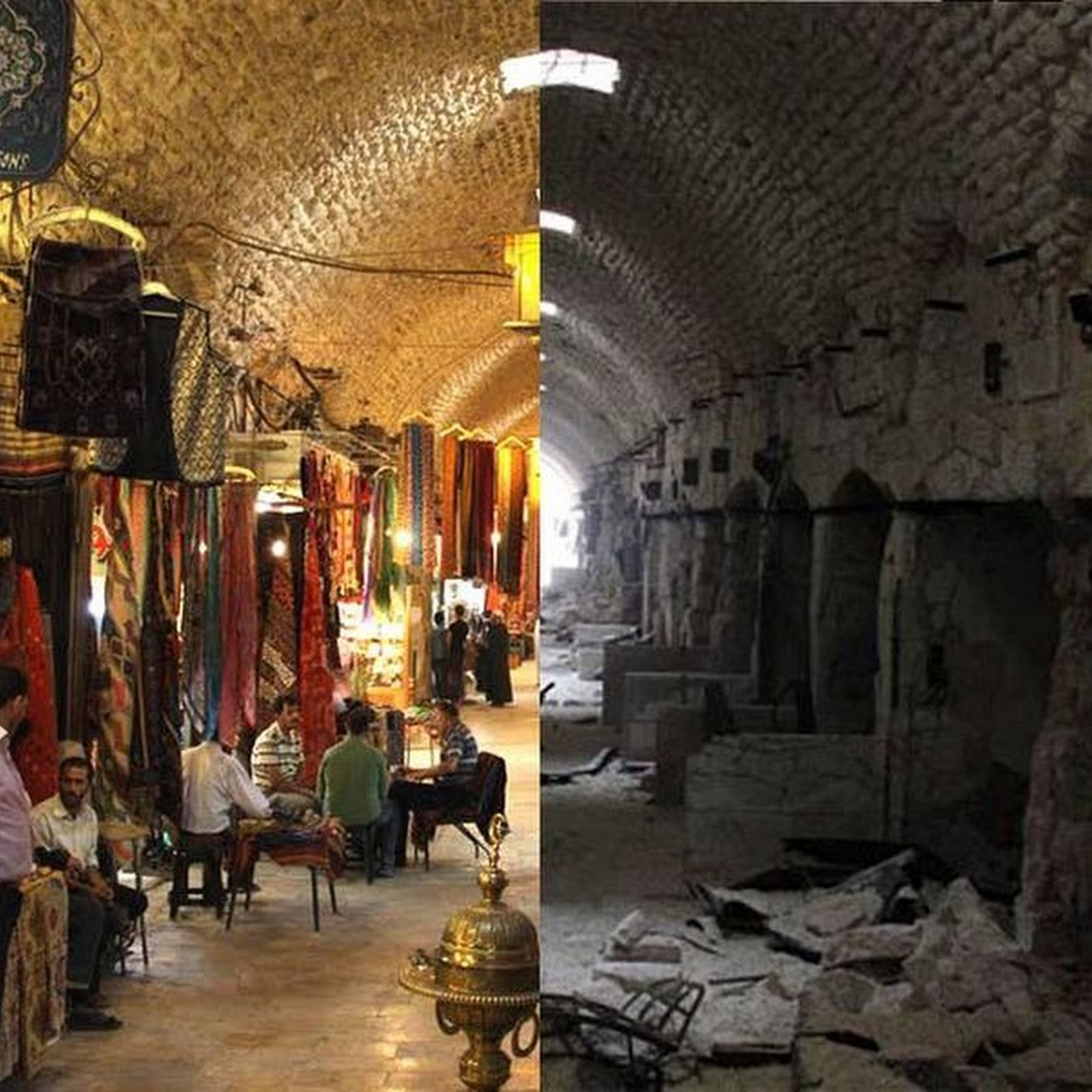 Before & After Photos of Syria Reveals War's Destructive Effects