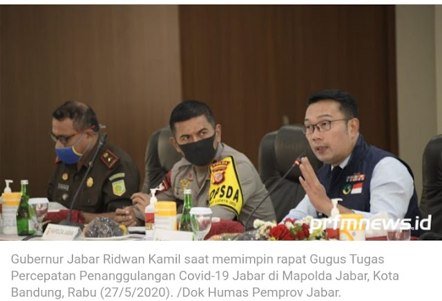 PSBB Jabar Resmi Diperpanjang, Khusus Bodebek Sampai 4 Juni 2020