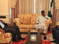 President buhari 's health has improved tremendously  - check