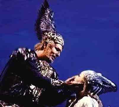 James Morris As Wotan And Frances Ginzer, Asatru Gods And Heroes