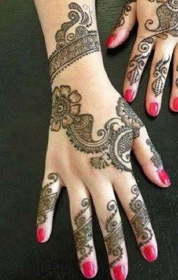 beautiful mehndi design - screenshot