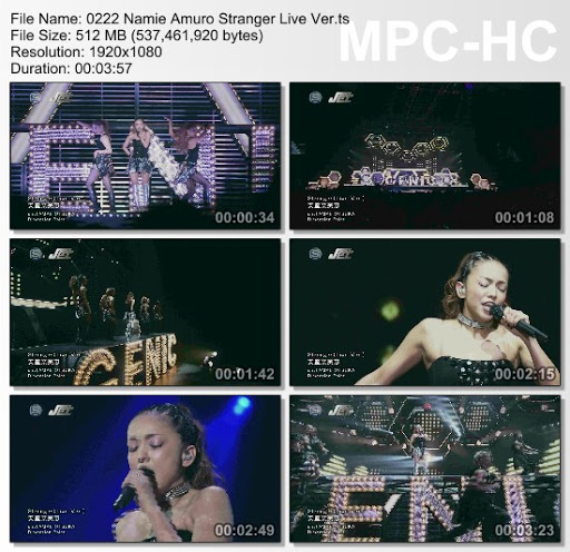 [MUSIC VIDEO] 安室奈美恵 – Stranger (Live Ver.) (2016.03.02/MP4/RAR)