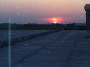 Gdansk Airport in the morning