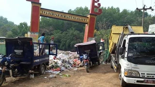 Pengelolaan Tempat Pembuangan Sampah Akhir Bumi Ayu Terkesan Carut Marut