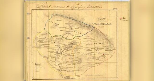 ⚡Hace 171 años Tlaxcala solo tenía 11 municipios y así se veía 😱
