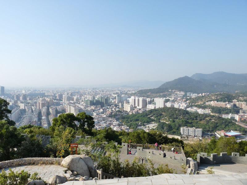 Vue d une partie de Quanzhou