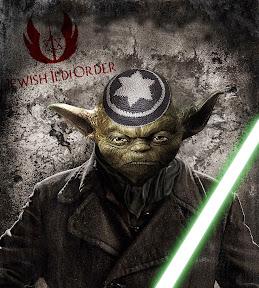 Jewish Jedi Order facebook hirdetés grafikai tervezése.