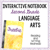Freebie interactive notebook cover
