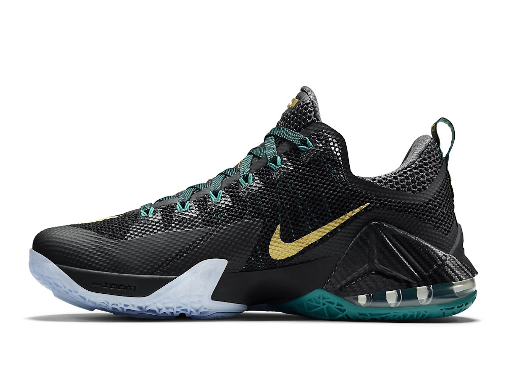 the latest df379 1593c ... Release Reminder Nike LeBron 12 Low SVSM Carbon ...
