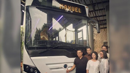 Bus Listrik Maxvel, Bus Nasional Buatan PT Mobil Anak Bangsa (MAB)