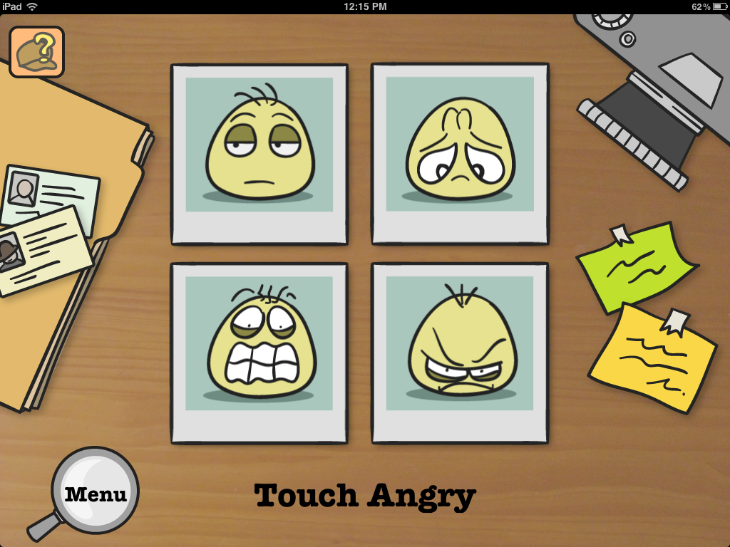 Emotion Detective Emotion Grid 2