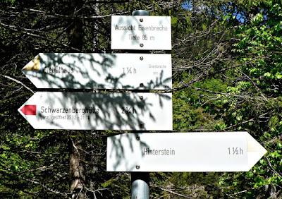 Klamm In der Eisenbreche ostrachtal Tour Hindelang Hinterstein Giebelhaus Allgäu primapage