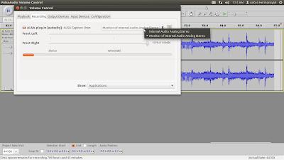 PulseAudio Volume Control 003