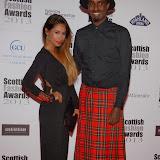 WWW.ENTSIMAGES.COM -    Preeya Kalidas and Mason Smillie   at    Scottish Fashion Awards  at 8 Northumberland London October 9th 2013                                                 Photo Mobis Photos/OIC 0203 174 1069