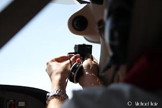 Photo: Anders klargjør GoPro-kameraet for forevigelse av turen på YouTube.