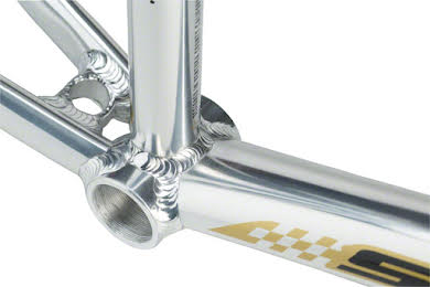 """Staats Bloodline Supermoto30 Expert Frame 19.5"""" Top Tube Silver Arrow Polished alternate image 0"""