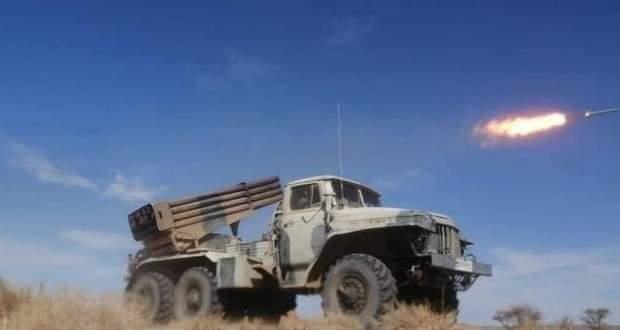 El Ejercito saharaui bombardea la brecha ilegal de El Guerguerat.