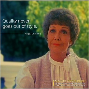 #073_Angela_Quality never goes out of style