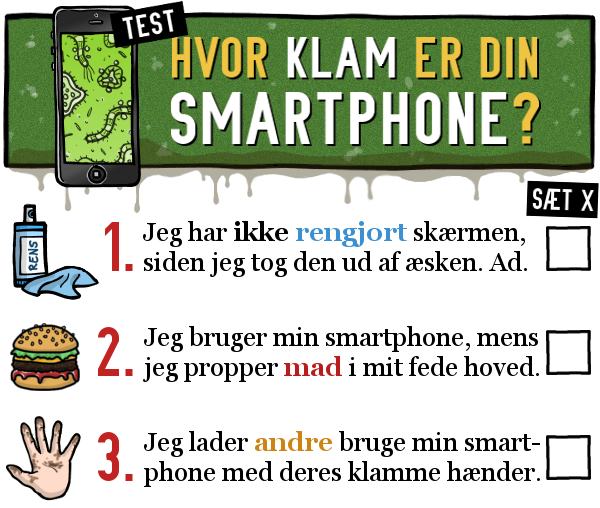 STRIBE FRA METROXPRESS: Hvor klam er din smartphone?