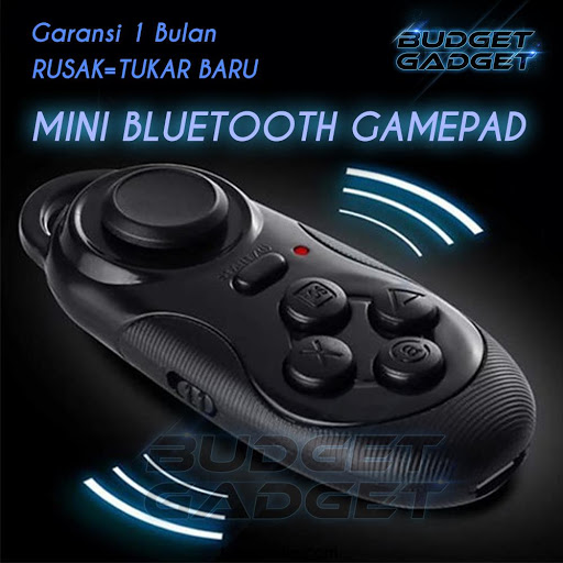 Mini Portable Bluetooth Gamepad with Remote Shutte