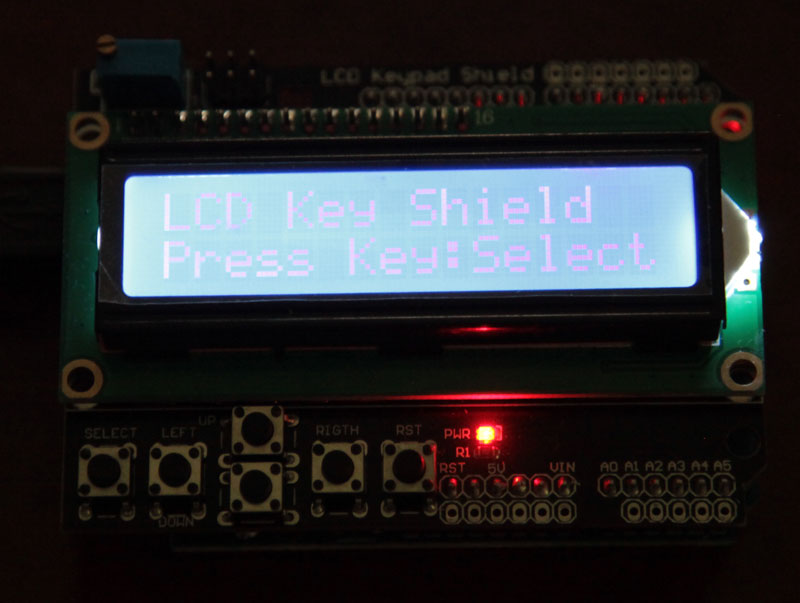 ChinaBuye: Arduino Compatible UNO R3 и LCD Keypad Shield