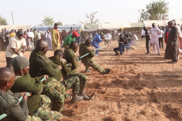 Gombe Governor praises military's efforts in counter-insurgency operation, promotion of social cohesion~NEWSEXTRA