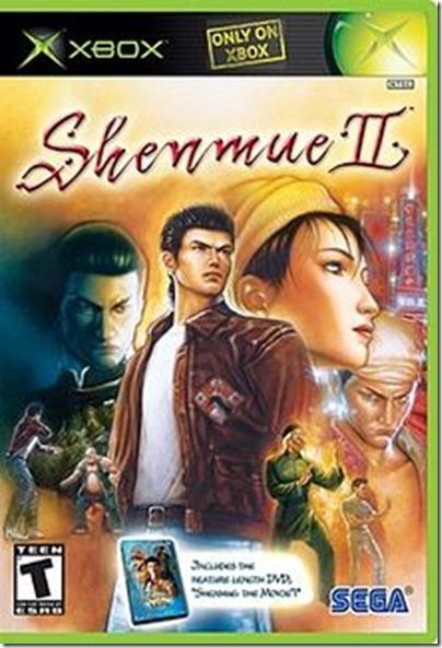 Shenmue 2 castellano xbox