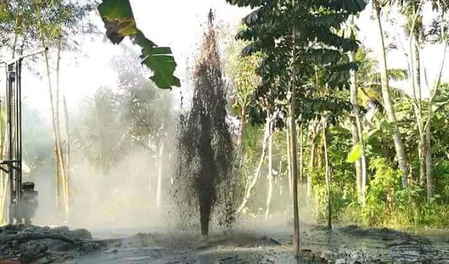 Video semburan lumpur panas di tasikmalaya