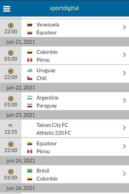 قناة سبورديجيتال تعلن عن بث بقية مباريات كوبا أميريك