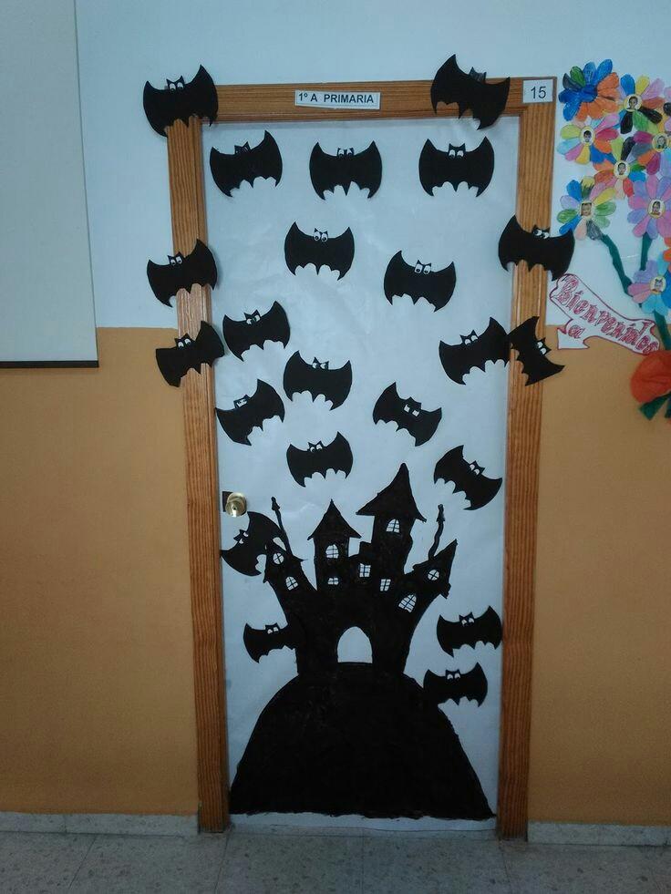 Ideas Divertidas Para Decorar Tu Puerta En Halloween