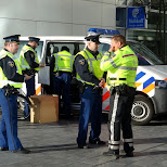 cops showing up at a demonstration in Den Haag, Zuid Holland, Netherlands