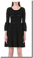 Sandro Carmen knit dress
