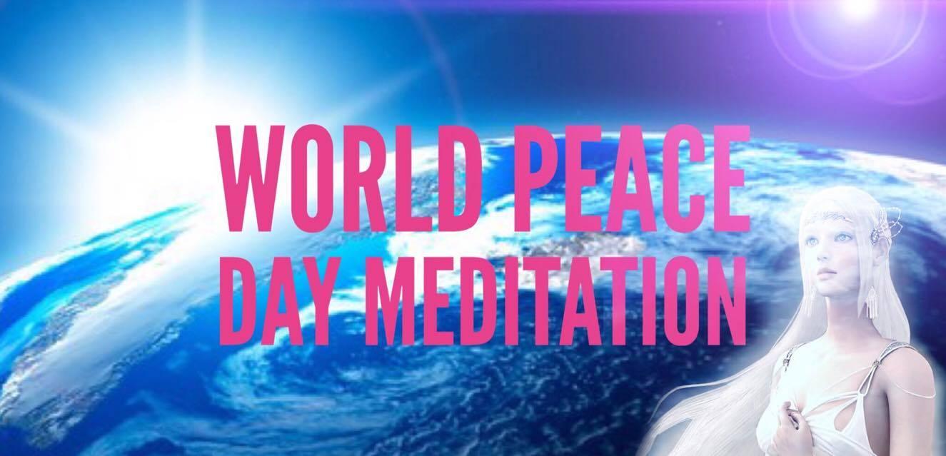 Urgent! World Peace Day Meditation Sep 24 at 4:30pm GMT