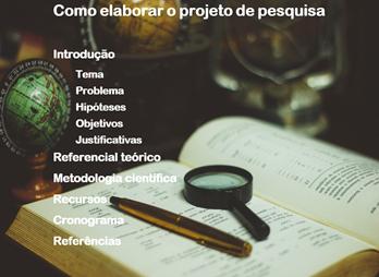 Guia do projeto de pesquisa