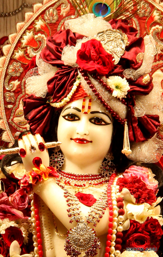 ISKCON Juhu Sringar Deity Darshan on 30th Sep 2016 (2)